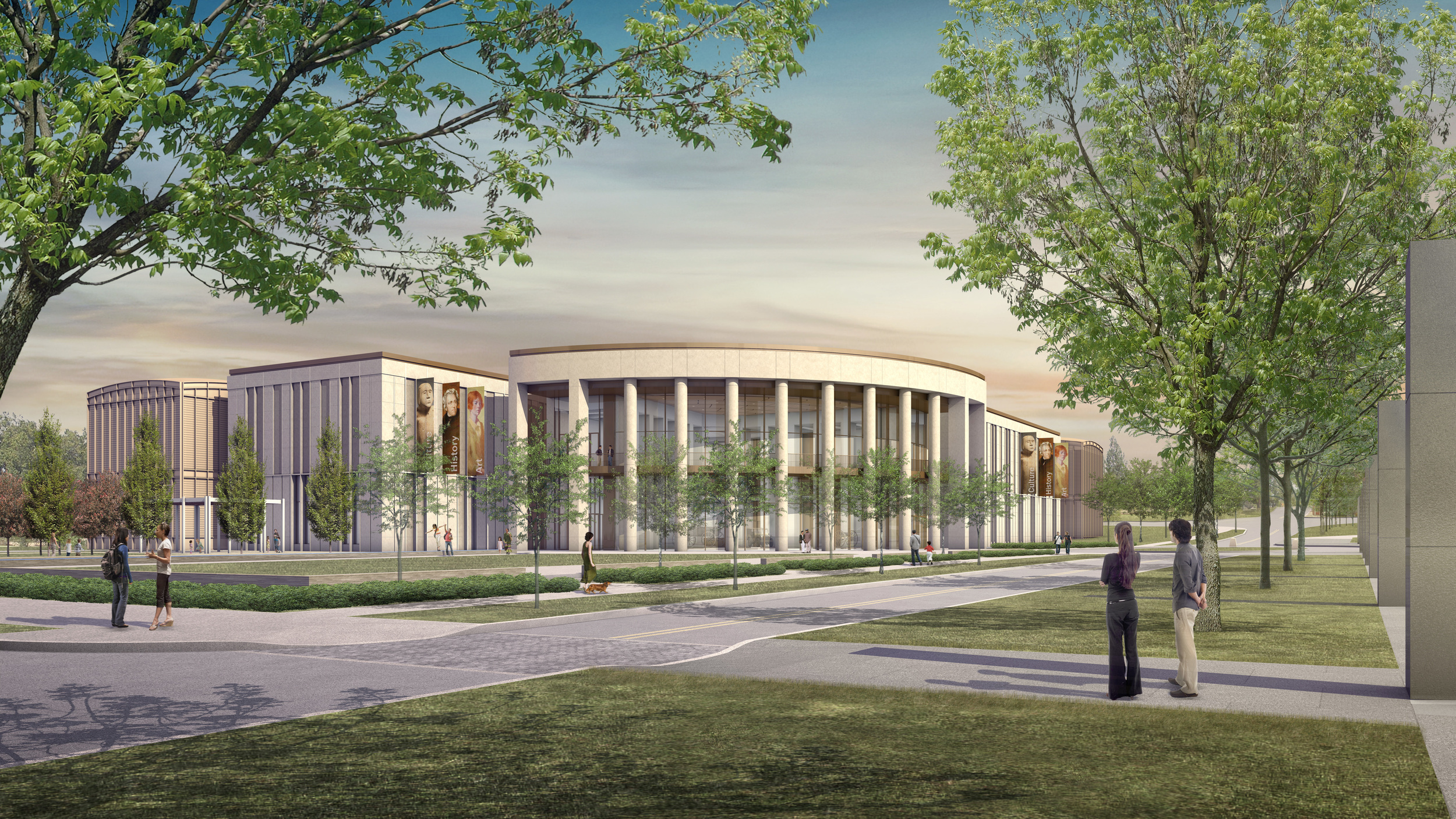 An artist rendering of the Tennessee State Museum