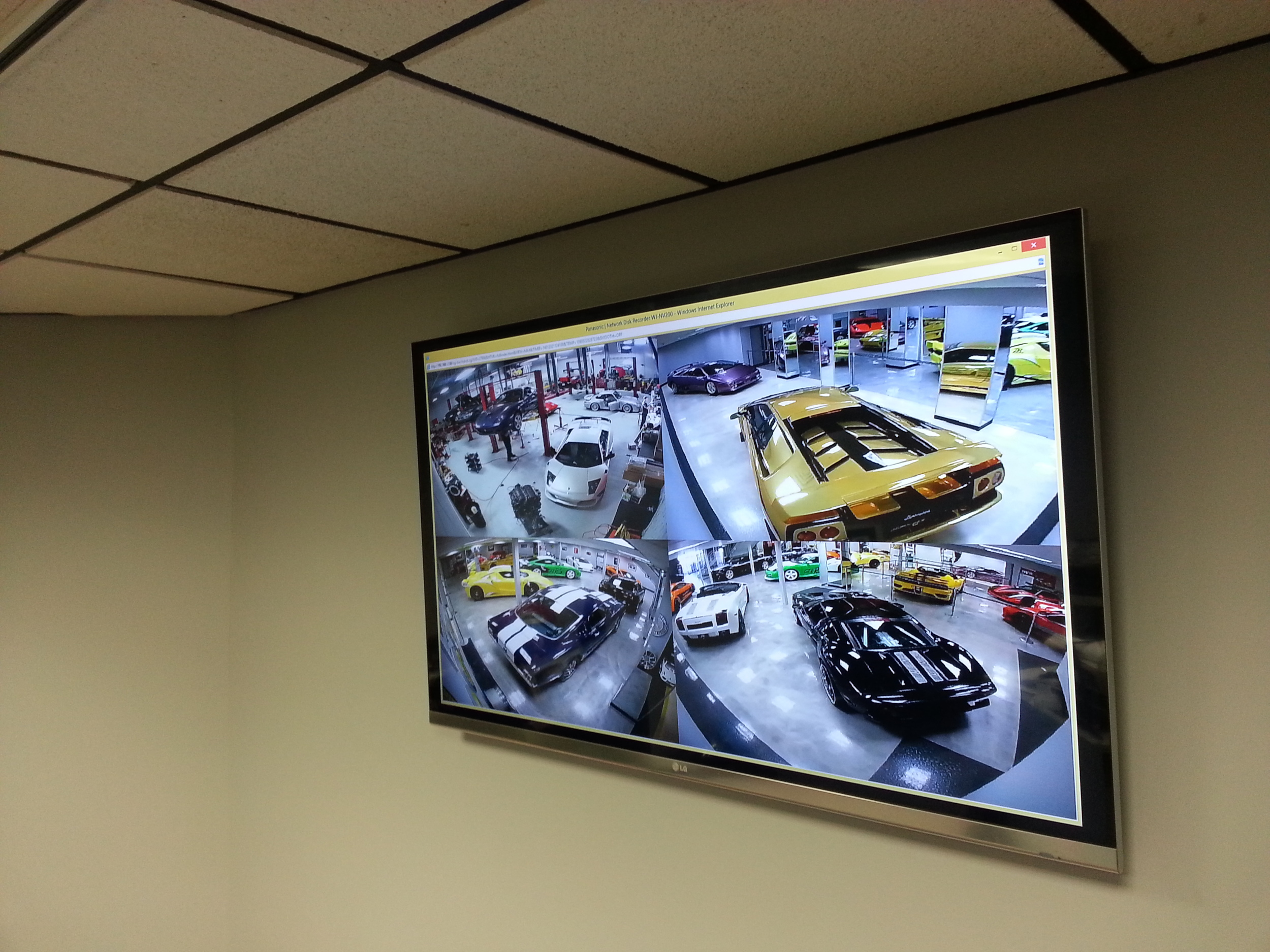 Surveillance Display Monitor