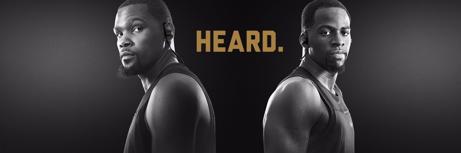 Kevin Durant and Draymond Green made a statement. Beats amplified it everywhere.