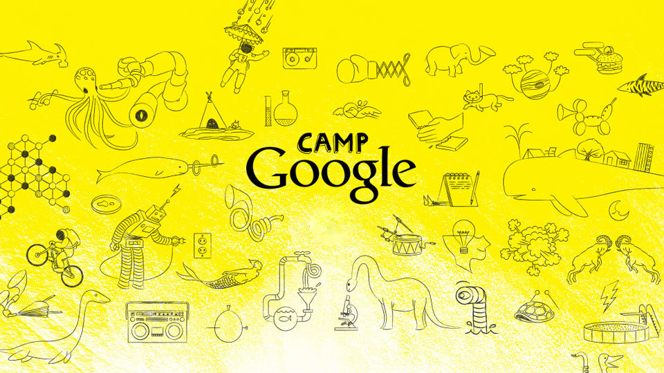 Camp Google was a four-week summer camp for kids, with each week getting its own scientific theme,  interactive content and endless ways to make learning stuff more fun.