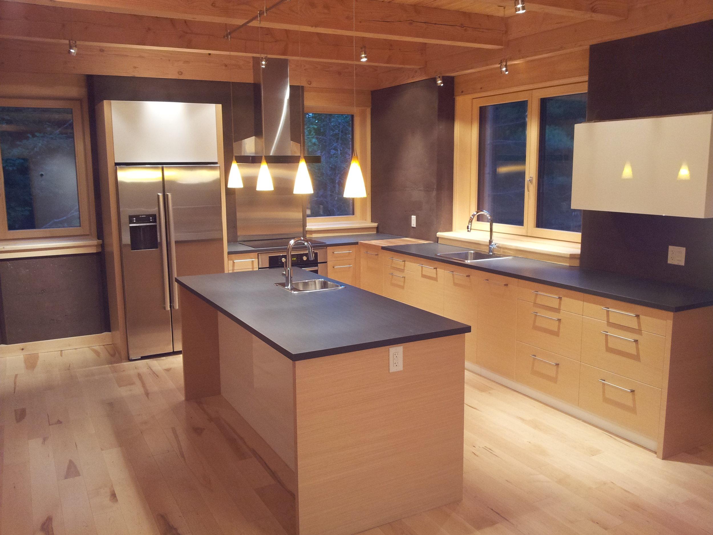 Rammed Earth House Kitchen.jpg