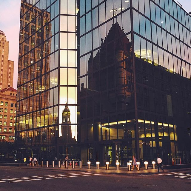 Reflective #corners (from last night's sunset). #week31
