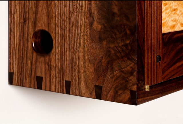 Wall Cabinet Dovetail Joinery Detail