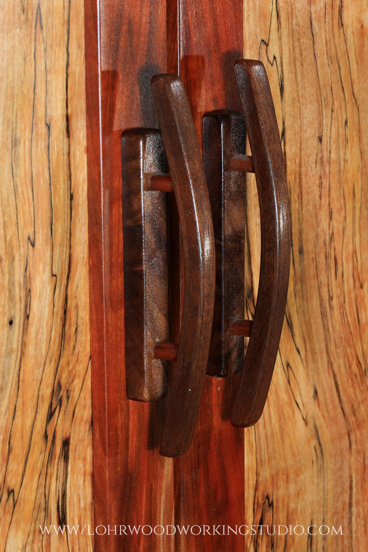 Handmade Walnut Door Pulls