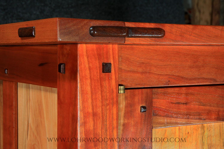 Greene & Greene Style Breadboard End Spline Detail
