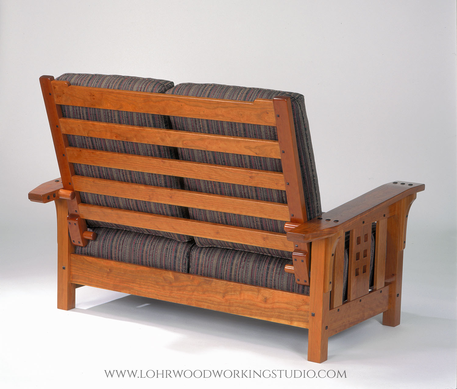 Arts and Crafts Style Morris Loveseat Back