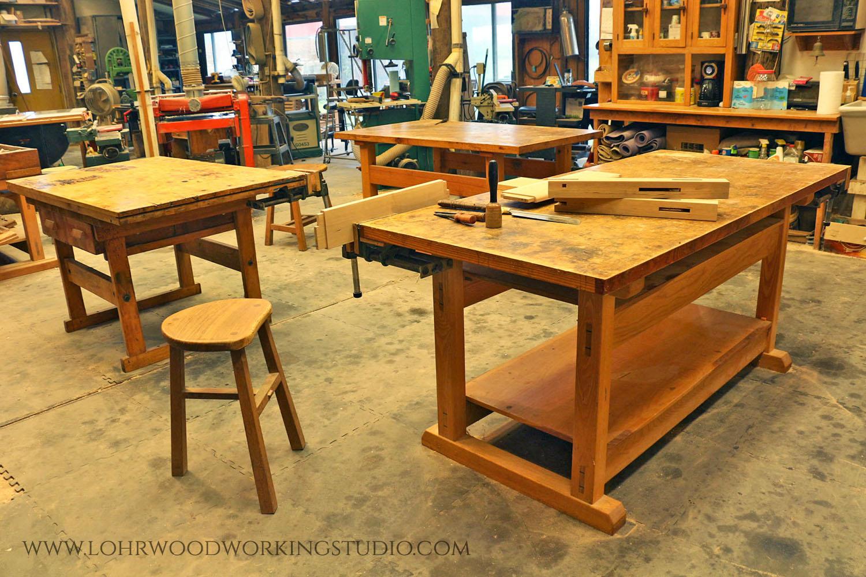 Inside Lohr Woodworking Studio