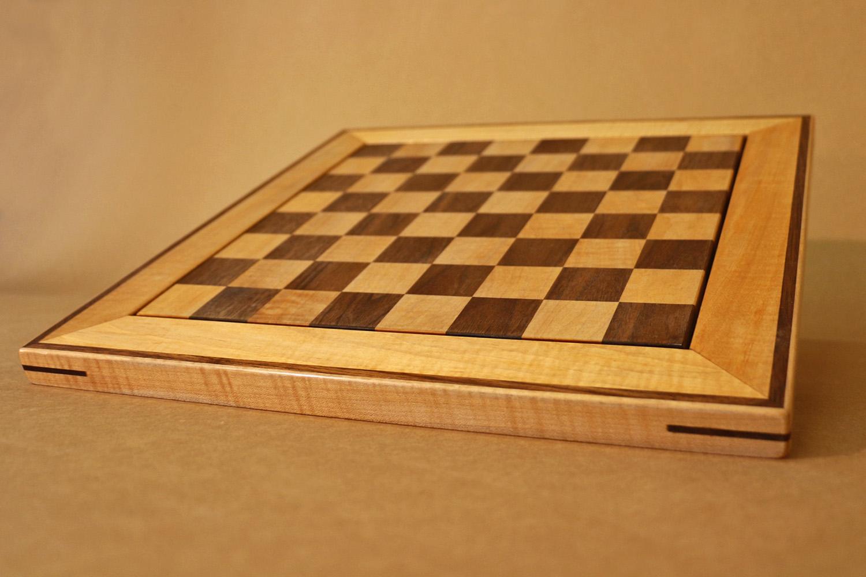 Walnut and Maple Chess Board (corner).jpg