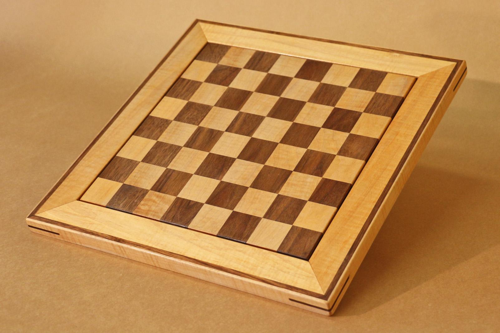 Walnut and Maple Chess Board.jpg