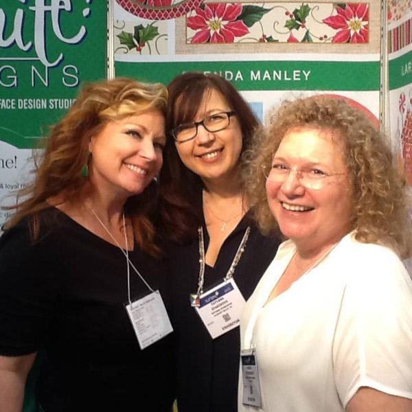 Brenda with Tatyana Starikova Harris and Andrea Strongwater