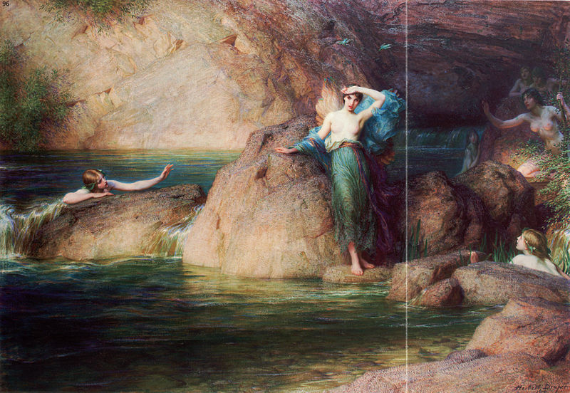 Herbert James Draper - Halcyone (1915)