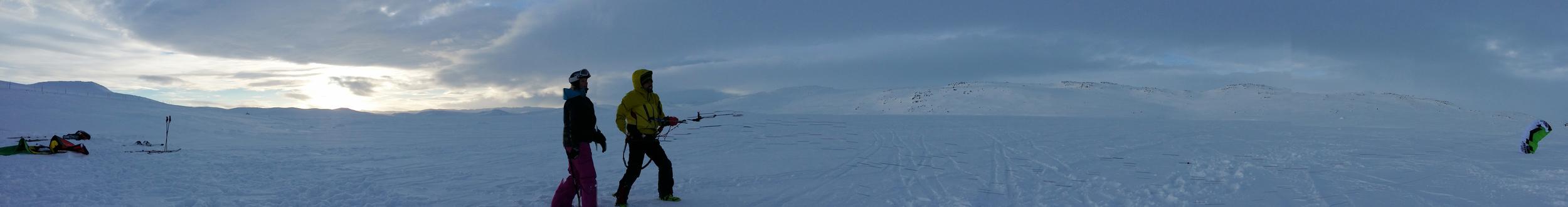 Haugastøl kite lesson