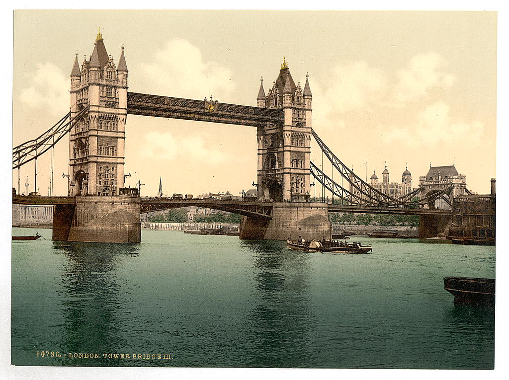 London Bridge is falling down? (source:  The Library of Congress )