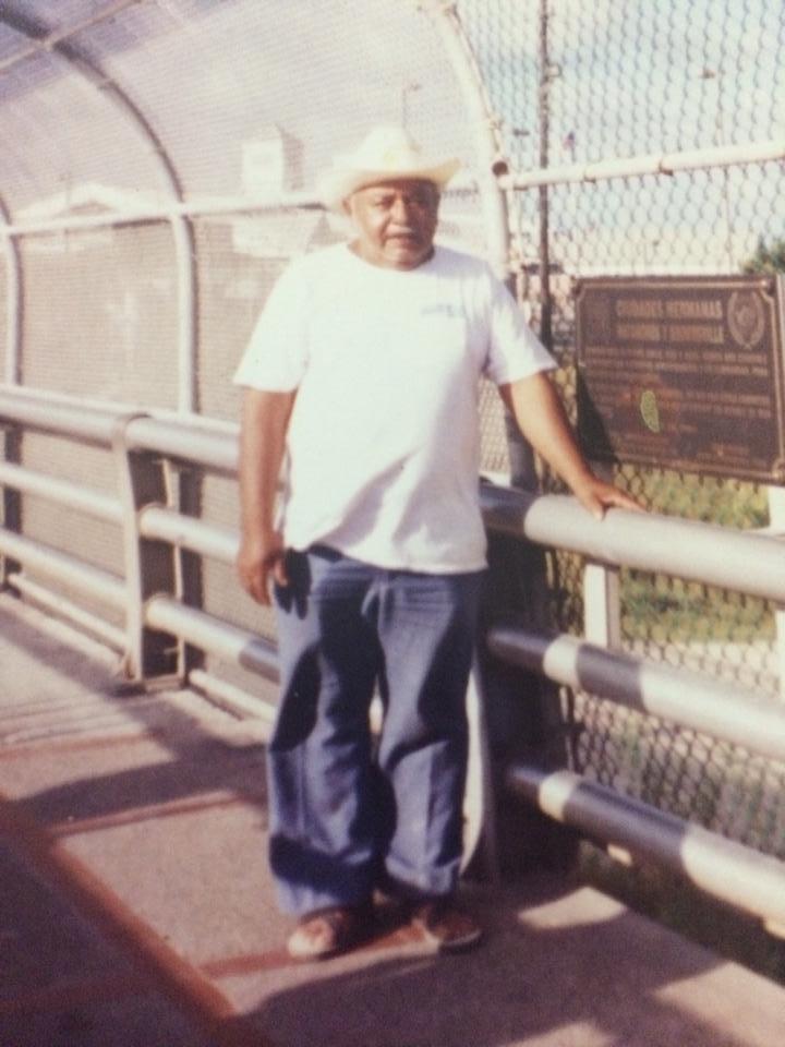 Antonio's grandfather in Mexico
