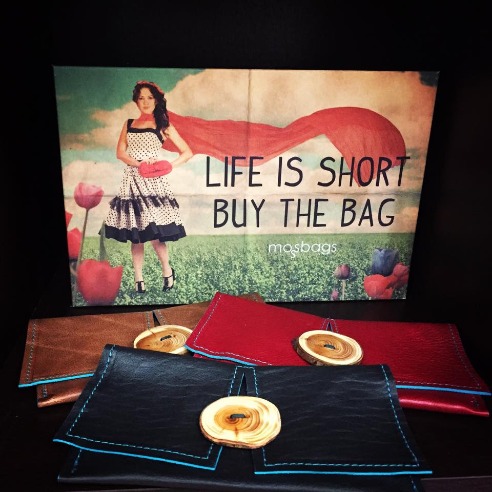 The Moss Bags motto . . .