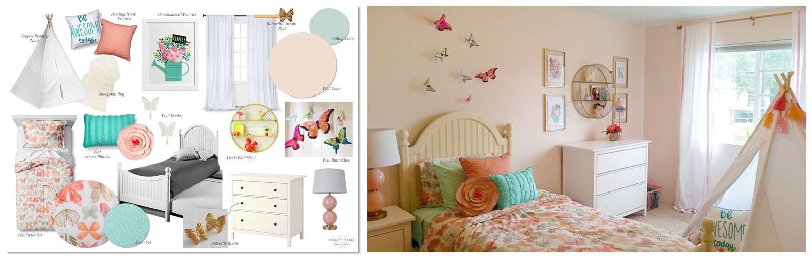 E-Design Completed Room Design