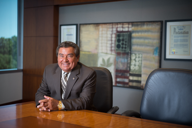 New York Community Bancorp CEO Joseph Ficalora at NYCB headquarters in Westbury, NY. July 18th, 2014 CREDIT: Ken Maldonado for The Wall Street Journal. SLUG: NYCB