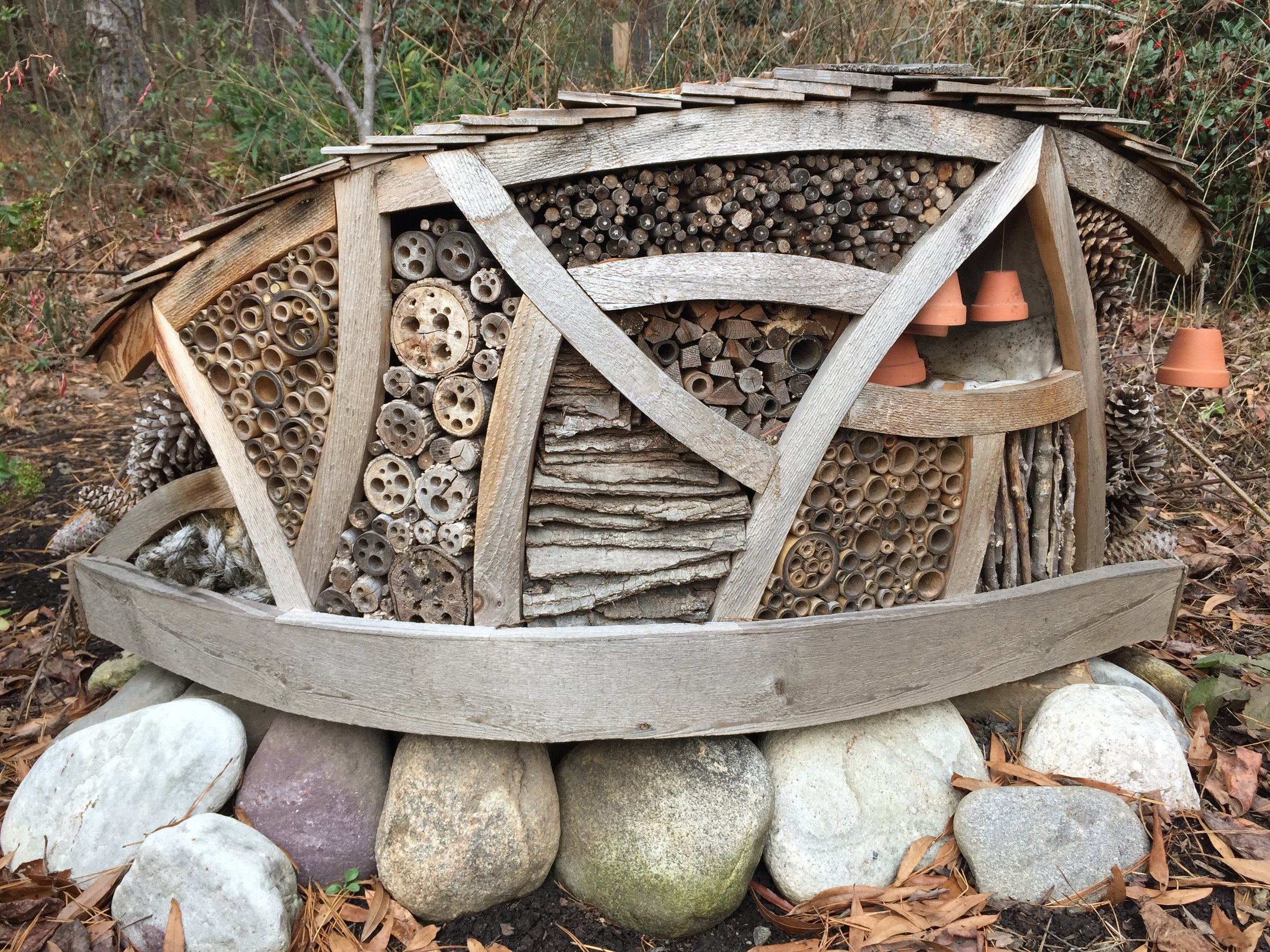 Museum of Life and Science's insect hotel is so cozy, we kind of want to move in ...