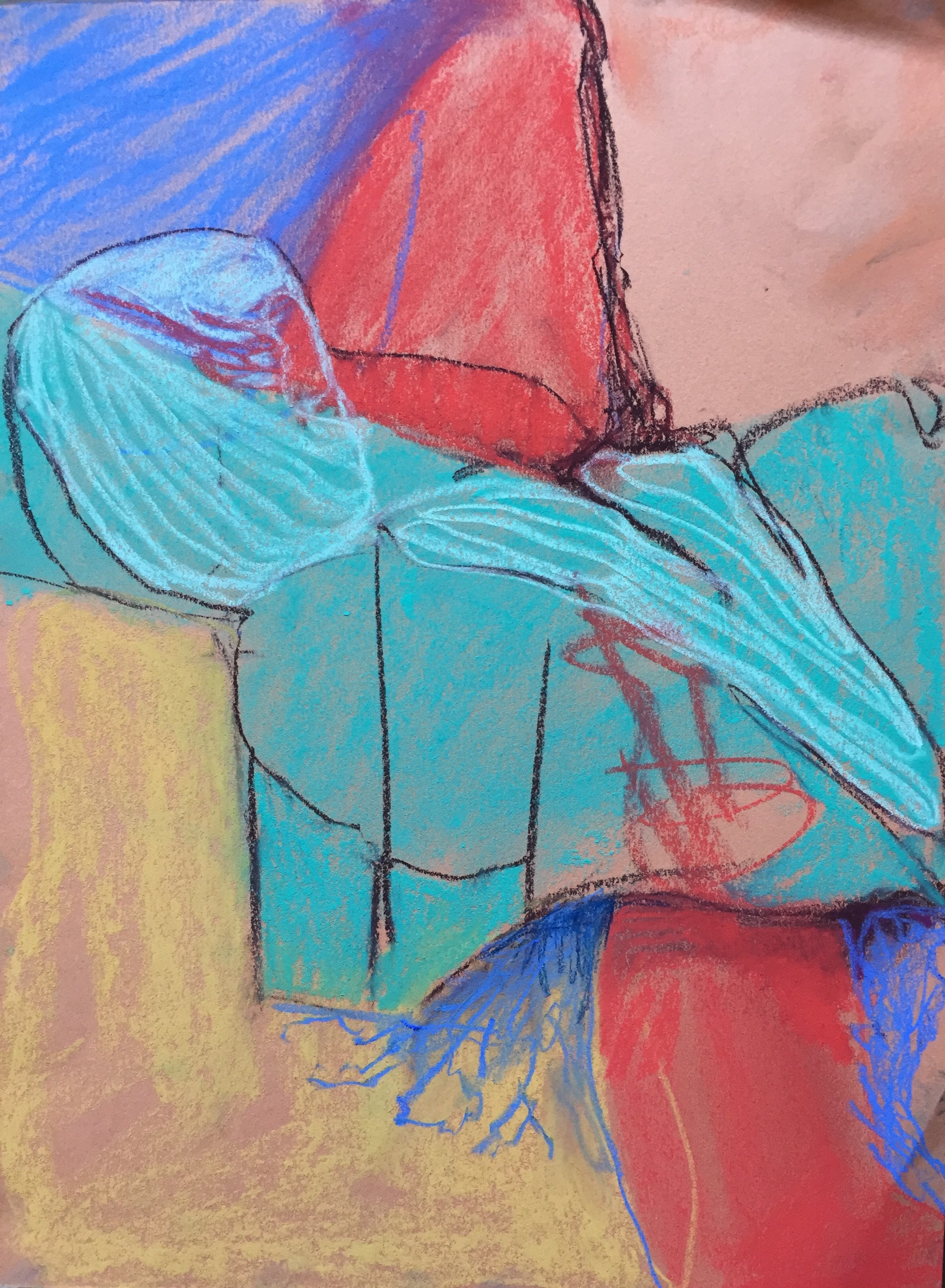 9 x 12   Pastel on paper