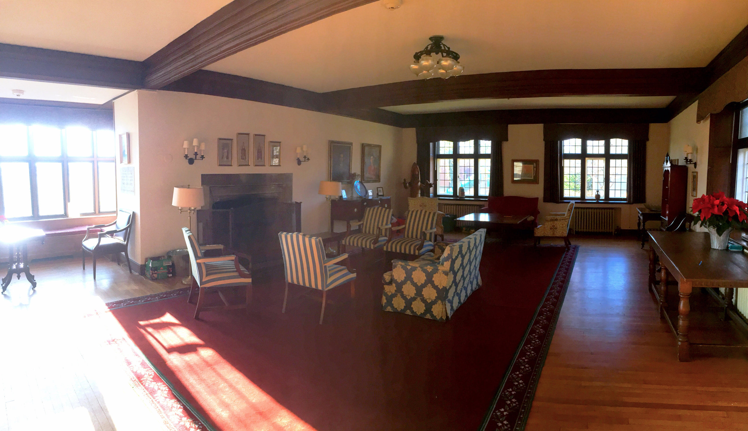 The Houston Room at Church of St. Martin-in-the-Fields' Parish House, where our retreat will be held