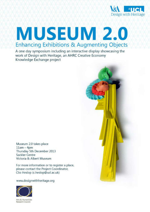 Gabby joins a one-day symposium to explore enhanced exhibitions and augmented artefacts .
