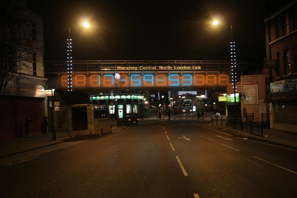 Hackney Central Overground Bridge