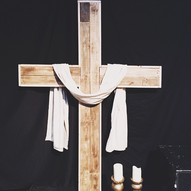 Life, death, resurrection.