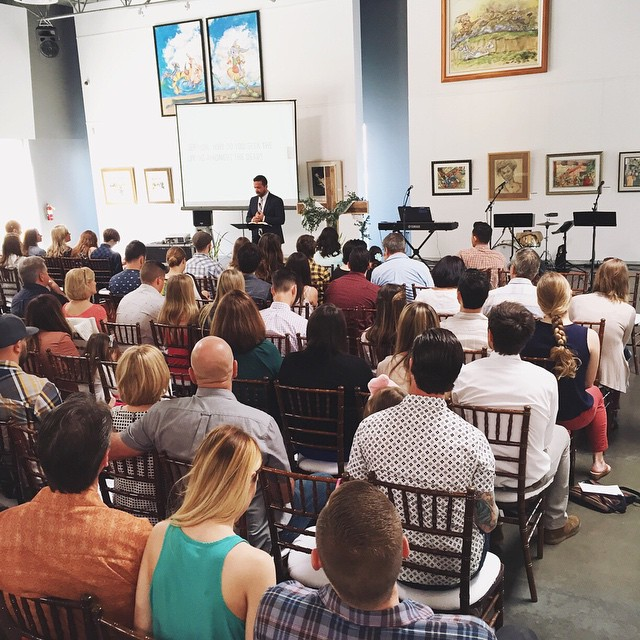Easter at the Chuck Jones Gallery was awesome, we look forward to many more Easter Celebrations together as a church.