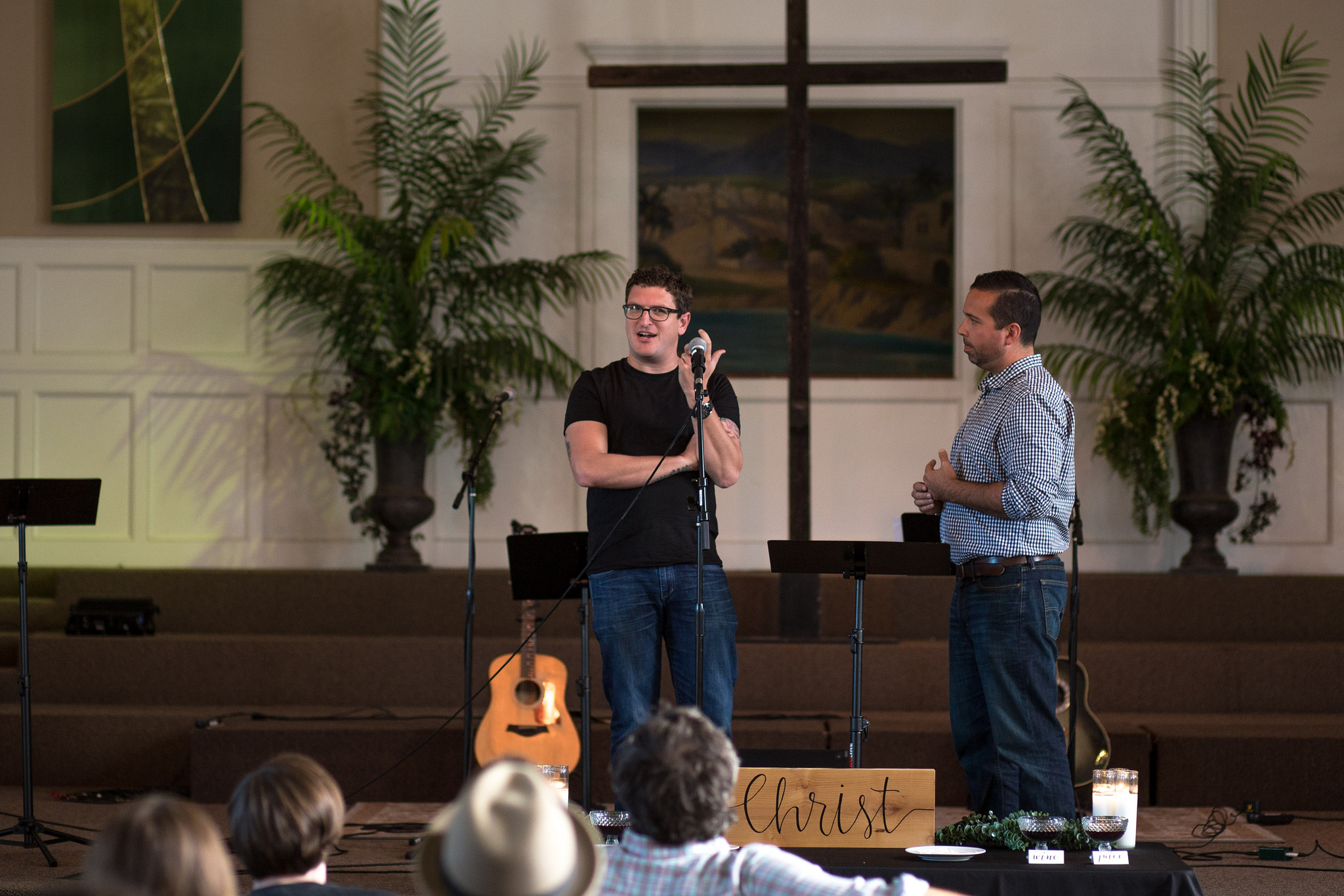Mike Cosper, one of the founders of Sojourn and author of Rhythms of Grace, spent some time with our worship leaders.