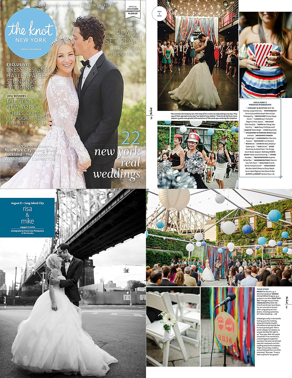 jove meyer events featured in the knot for a foundry wedding.jpg