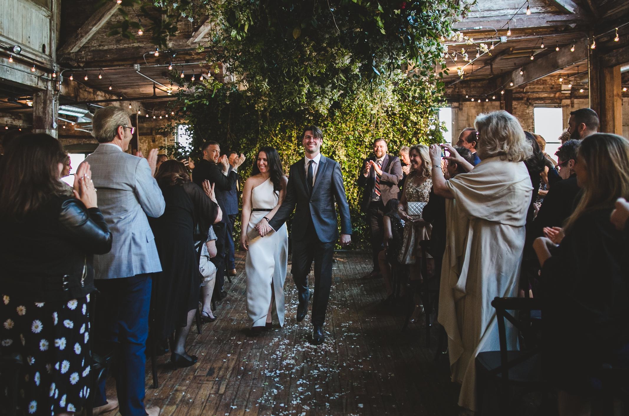 best brooklyn wedding planner jove meyer threw an amazing wedding at greenpoint loft.