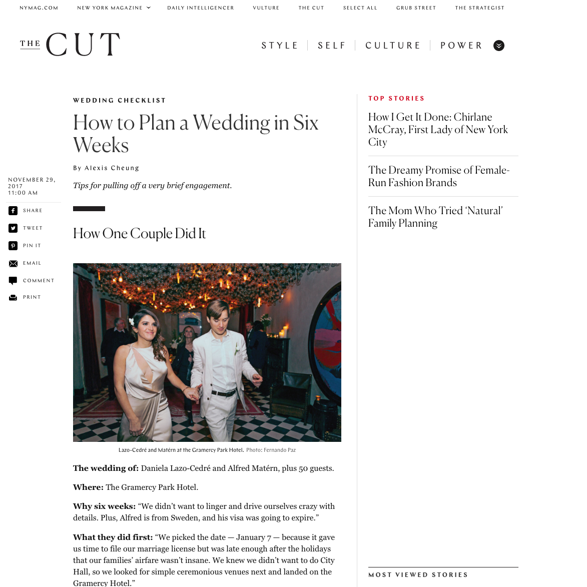 best nyc planner jove meyer featured in the cut