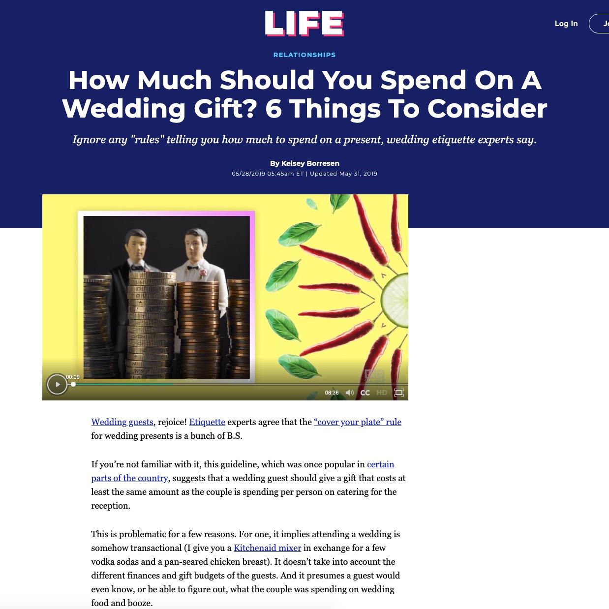 nyc wedding planner jove meyer shared wedding tips with huffpost