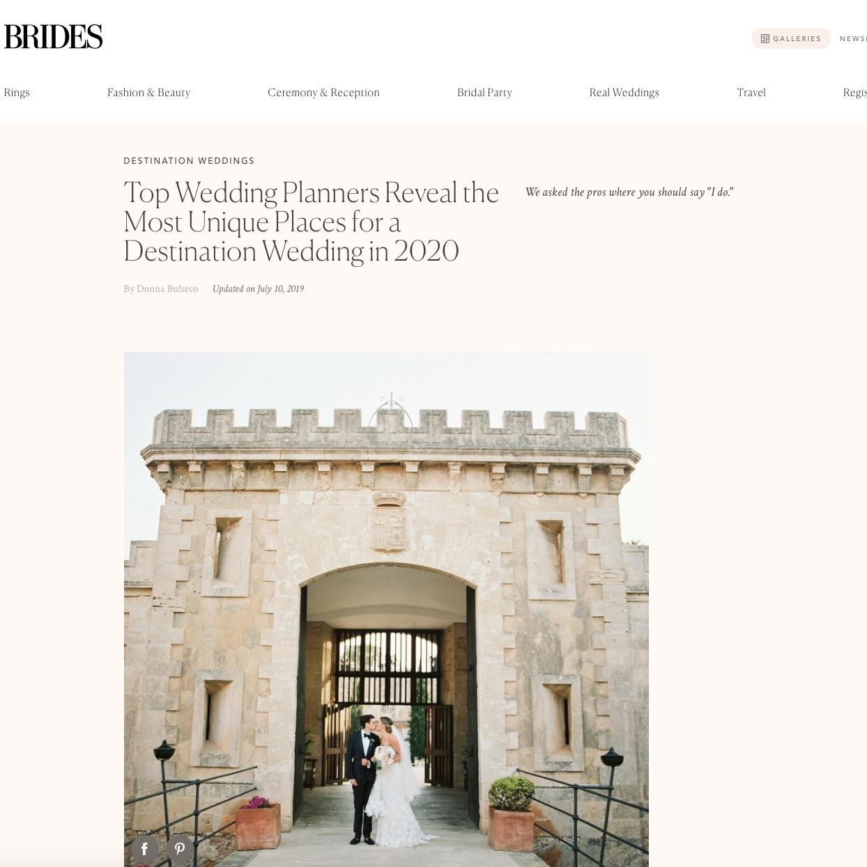top wedding planner jove meyer featured in brides magazine