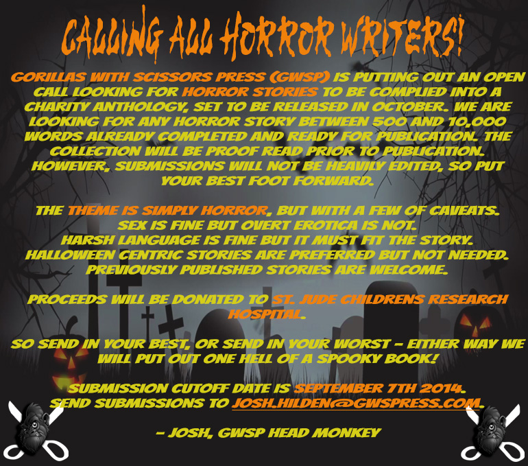 Horror Submission Call