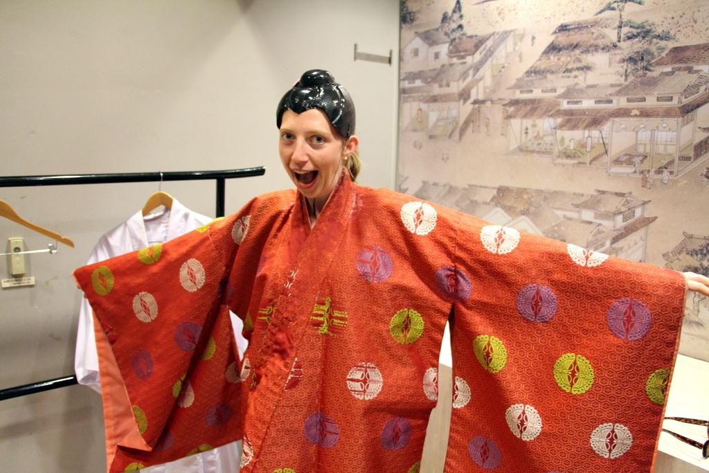 Hiroshima: Hiroshima castle featured costume dress up