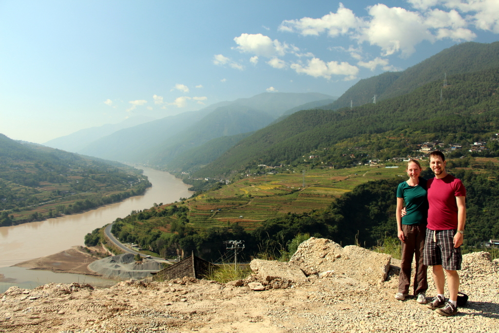 This photo was taken just at the edge of the gorge. The mountains became much steeper after this.