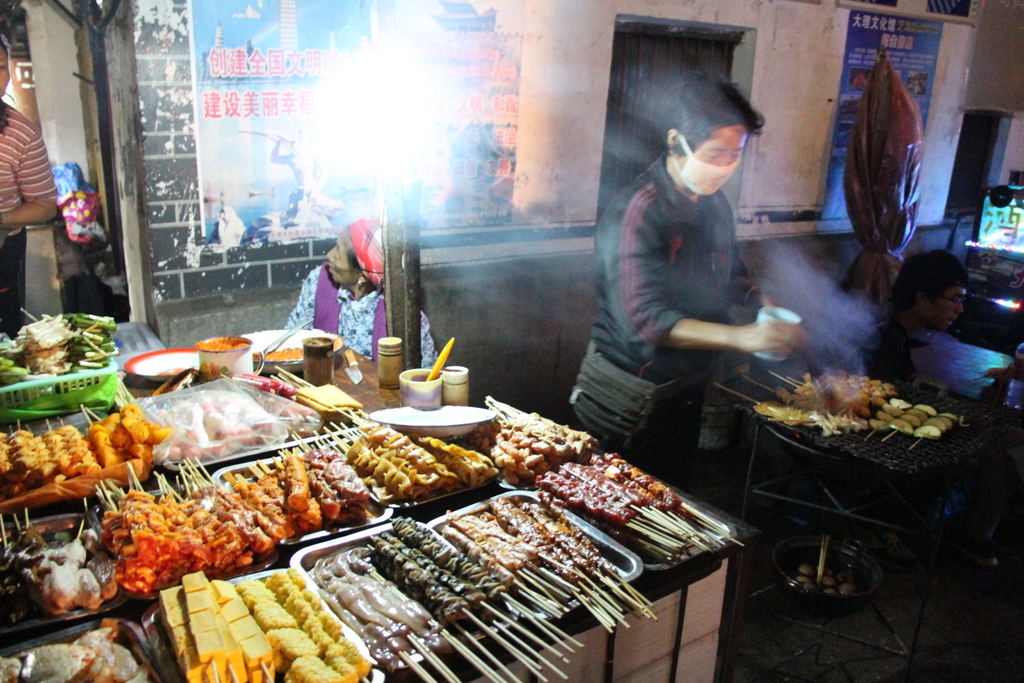 One of the many street BBQ stalls we visited