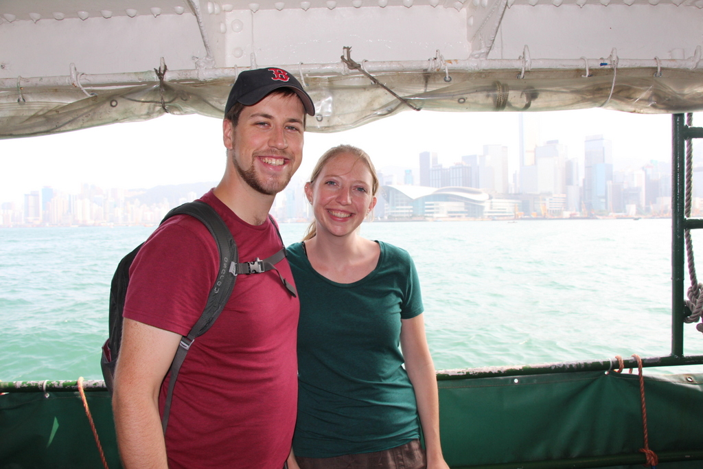 Taking the Hong Kong Ferry