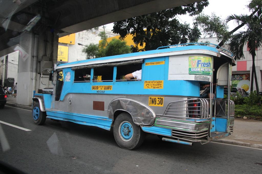 A modern jeepney in Manila