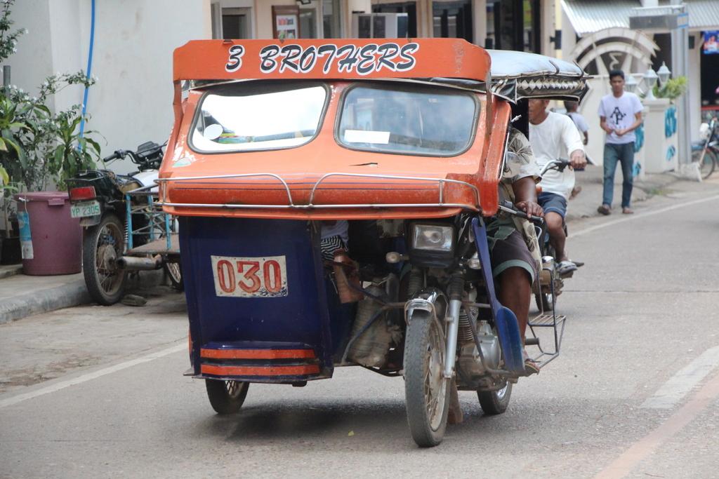 A trike in Coron