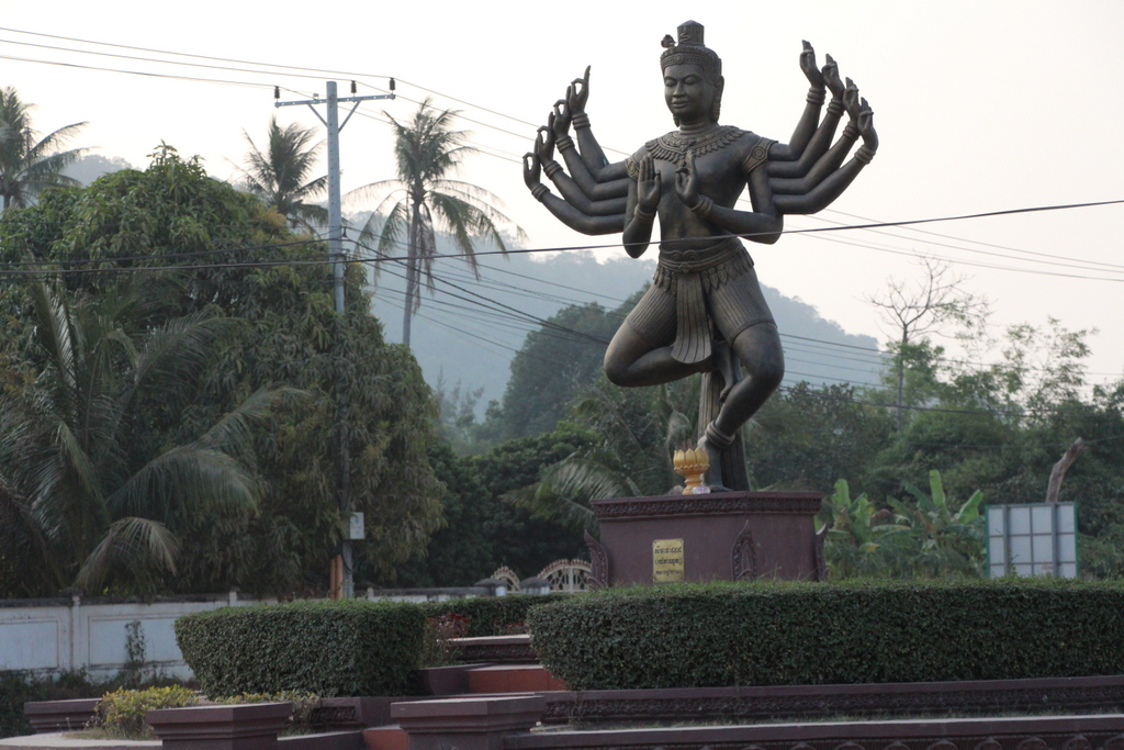Cambodia is a mostly Buddhist country but with a strong Hindu history.