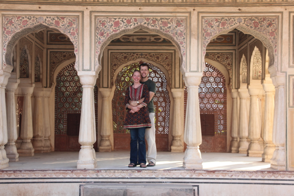 Also taken the following day at the Jaipur Fort.