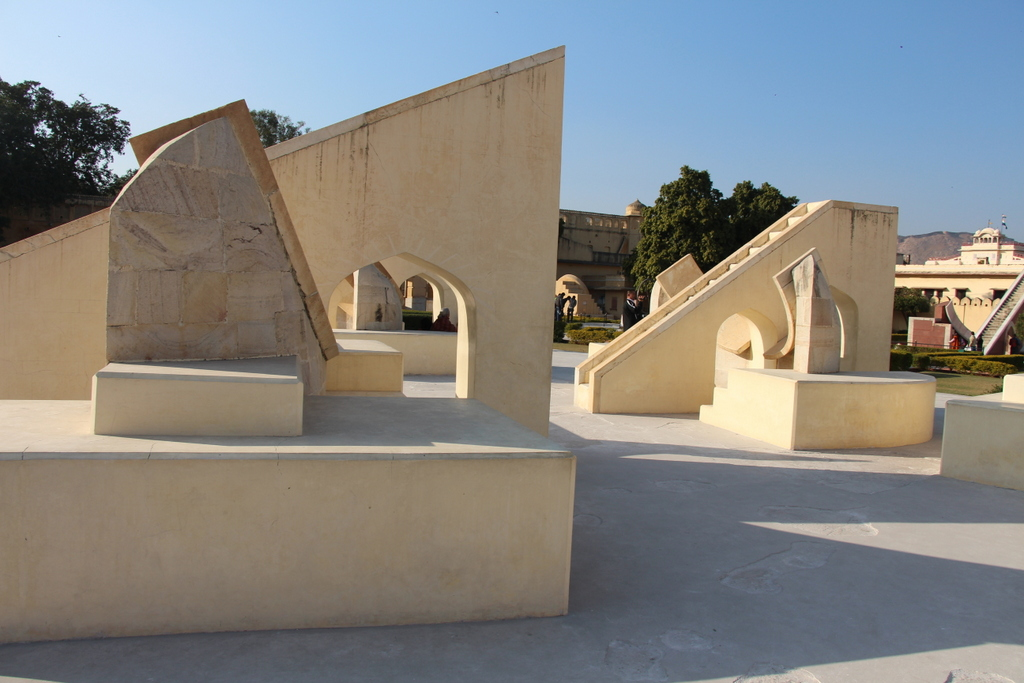 These devices are built to individually track one of the astrological signs of the zodiac. Twelves of these small structures were in Jantar Mantar.