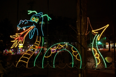 Northern Festival of Lights  (photos by Sandy Richardson)
