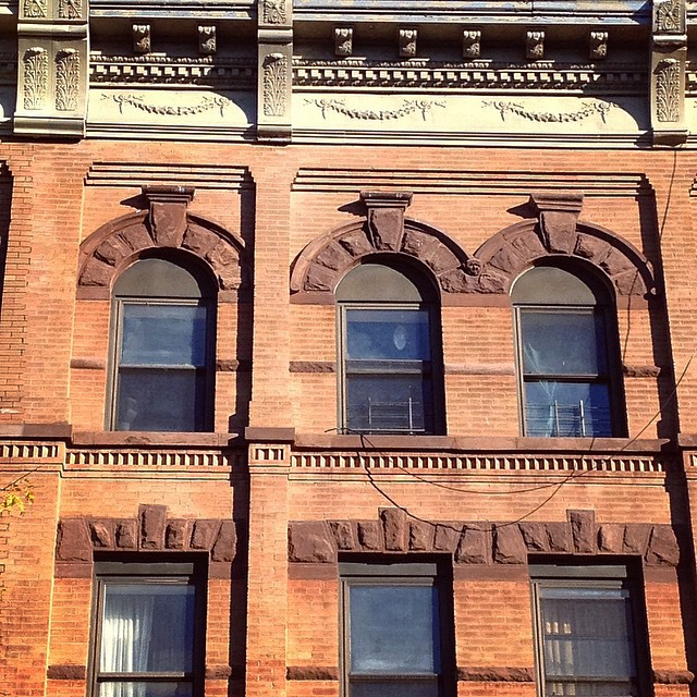 looking up #crownheights #architecture #masonry #cornice