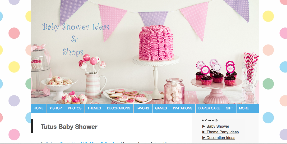 Baby Shower Ideas & Shops