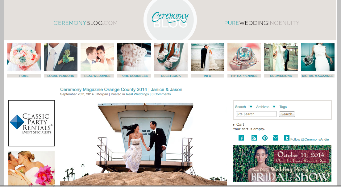 Ceremony Magazine Blog