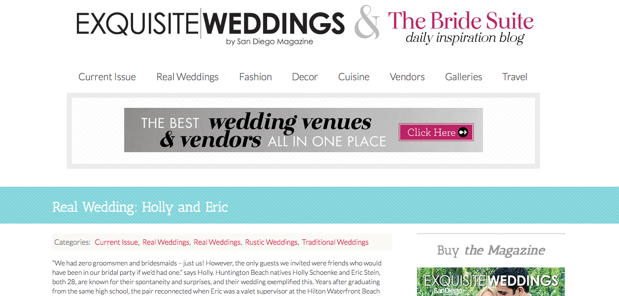 Exquisite Weddings Magazine Online
