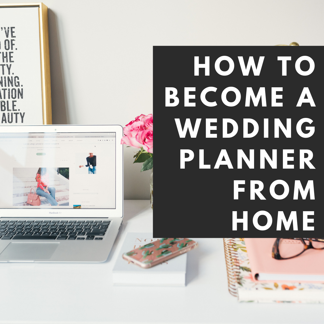 how to become a wedding planner from home